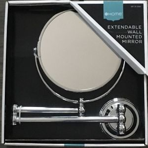 Extendable Wall Mounted Mirror-Target Home